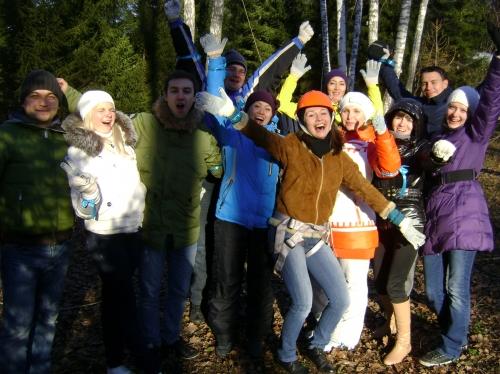 Тимбилдинг (teambuilding), командообразование, веревочный курс, корпоративный праздник, Новый год, 8 Марта, 23 февраля, тренинг командообразования в г. Уфа – мы делаем это лучше!
