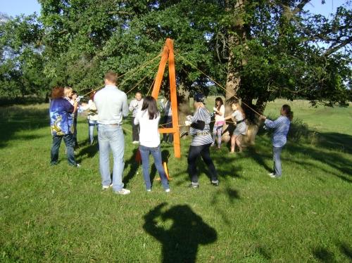 Тренинг командообразования в форме игры