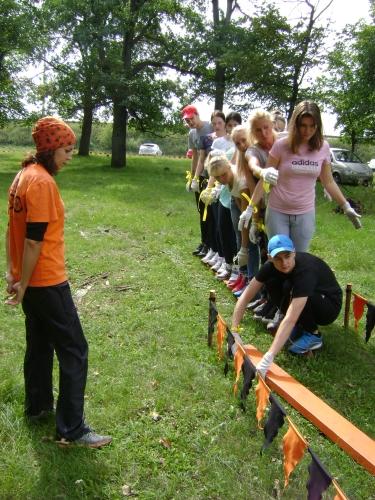 Упражнения для Веревочного курса - тренажеры командной работы