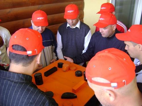 Проводится программа при сопровождении выездных бизнес-сессий крупных компаний.